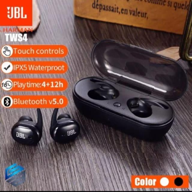 Jual Headset Bluetooth Jbl Tws 4 Original Bt Sport Bass Earphone Handsfree Jakarta Timur Erirla Shop Tokopedia