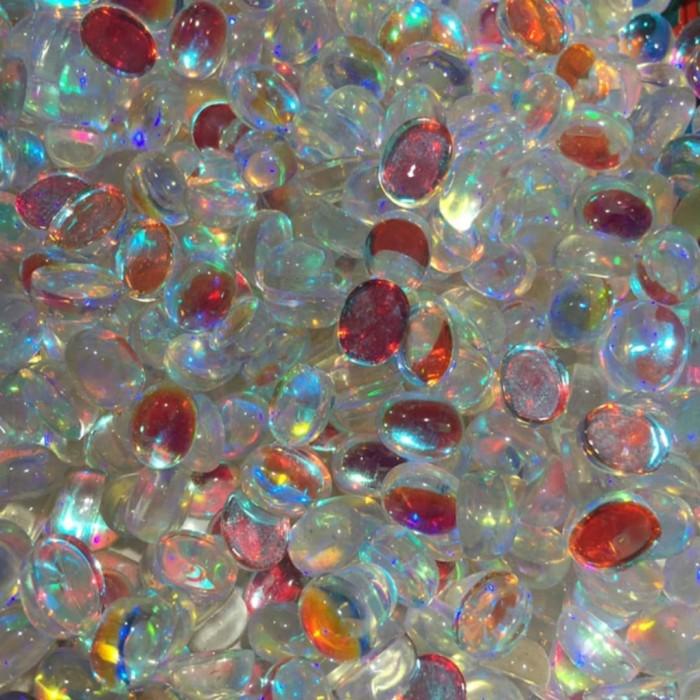 Foto Produk Batu Kalimaya Opal Imitasi Glassstone 9x7 Oval Polos dari JGC Official Shop