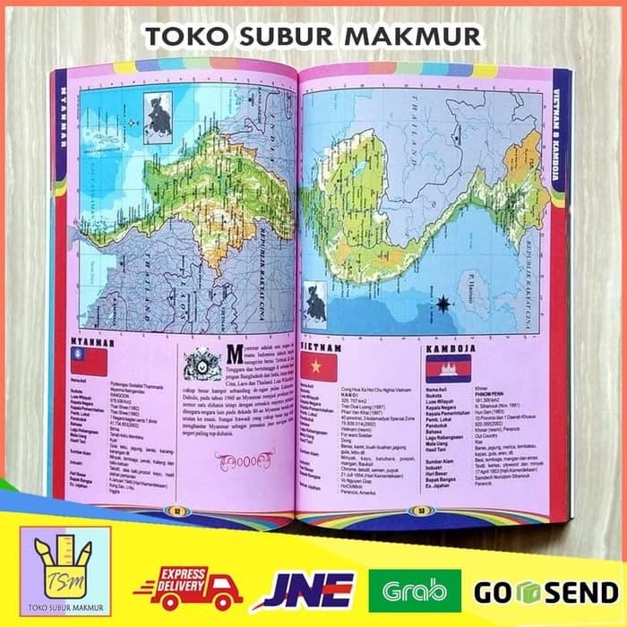 Jual Termurah Buku Atlas Global Peta Indonesia Dunia 34 Provinsi Propinsi Jakarta Barat Nasabhasanah Tokopedia