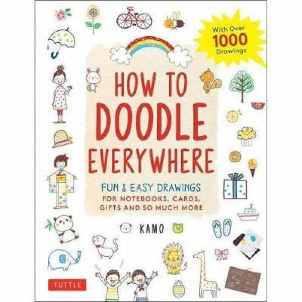 Foto Produk How to Doodle Everywhere: Cute & Easy Drawings for Not - 9784805315859 dari Periplus