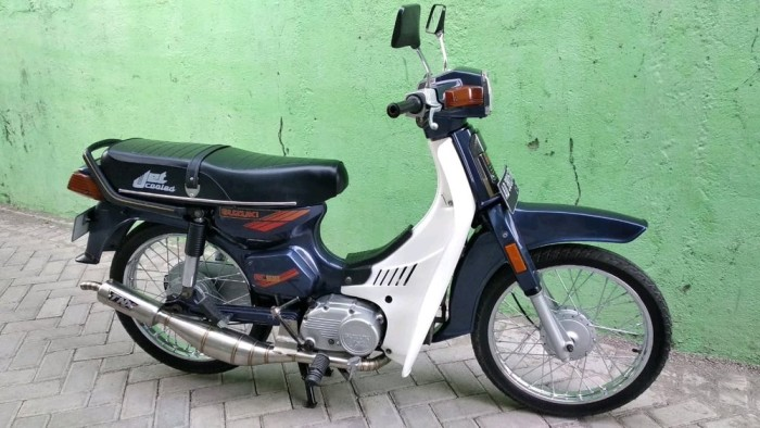 Jual Knalpot Racing Suzuki Bravo Rc100 Tnx Stenlis Suara Gurih Limited S Jakarta Barat Prasetyooshop Tokopedia