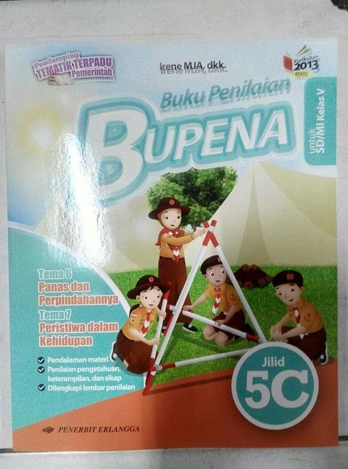 Jual Buku Sd Kelas 5 Bupena 5c Erlangga Jakarta Selatan Nugrahaandriani34 Tokopedia