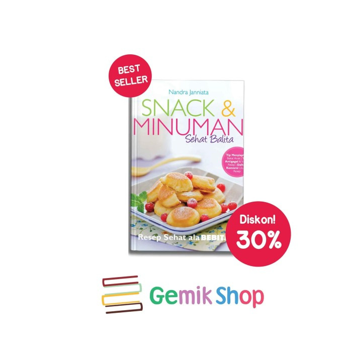 Jual Buku Snack Minuman Sehat Balita Kota Depok Gemi Shop Bogor Tokopedia
