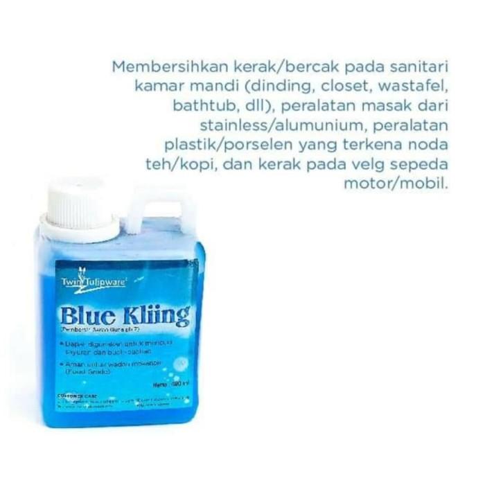 Foto Produk Blue Kliing Cairan pembersih serbaguna Twin Tulipware dari TULIPWARE collection