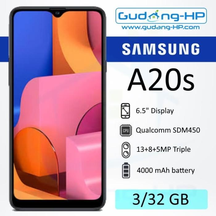 Foto Produk Samsung Galaxy A20s 3/32 GB Garansi Resmi SEIN - Hitam dari Gudang-HP