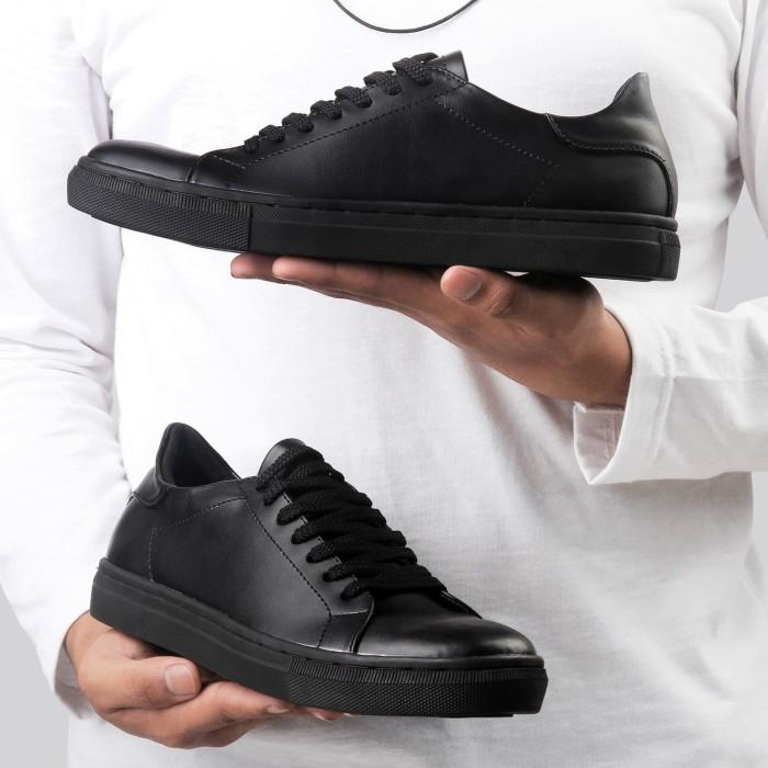 Foto Produk SEPATU SNEAKERS PRIA MONDAY ROGER BLACK TOTOSURYO x MONDAY FOOTWEAR dari Toto_Suryo