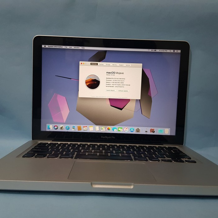 Jual Macbook Pro 13 Inch Mid 2012 4 500 Kota Bandung Amanah Jual Beli Tokopedia