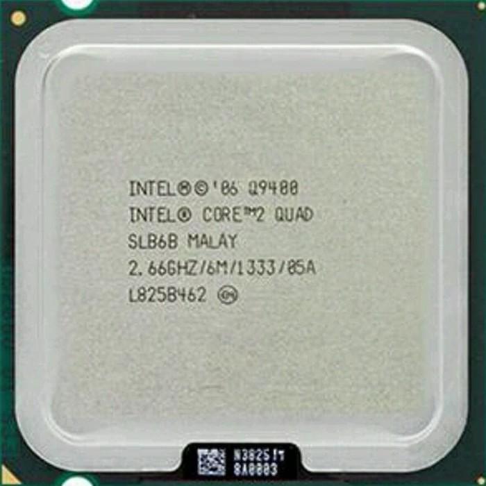 Foto Produk Terbaru Processor Intel Quad Core Q9400 Lga 775 Tray Tanpa Fan dari ONE trip