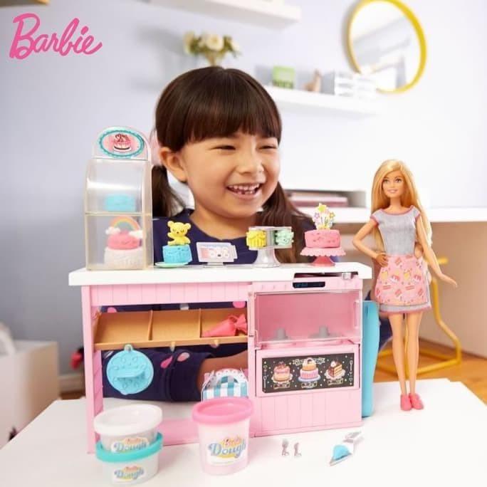 Jual Barbie Cake Decorating Playset Mainan Aksesoris Boneka Anak Perempuan Jakarta Timur Hanny Tokopedia