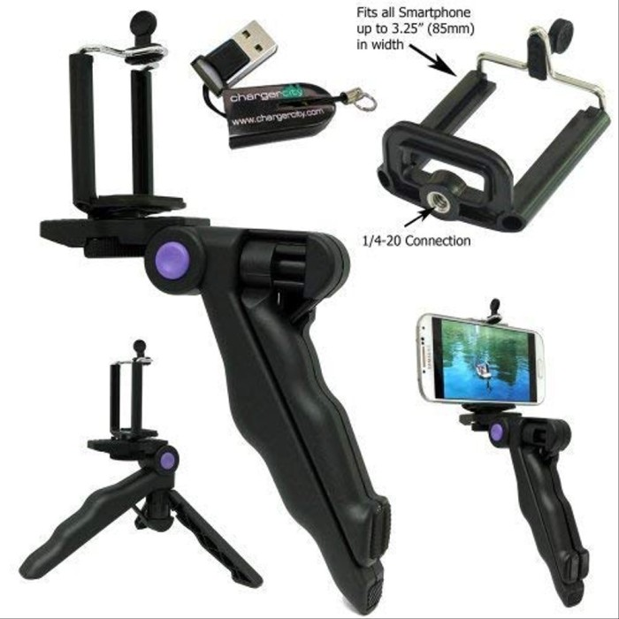 Foto Produk Mini Tripod Camera 3 In 1 For Go Pro Hero SJCAM SJ4000 SJ5000 Xia dari bufanshop