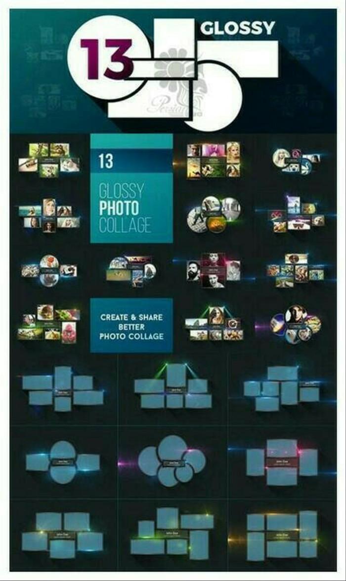 Jual KOLEKSI TEMPLATE PSD FRAME KOLASE FOTO DESAIN EKSKLUSIF Kota Surabaya Suneo Store 2020