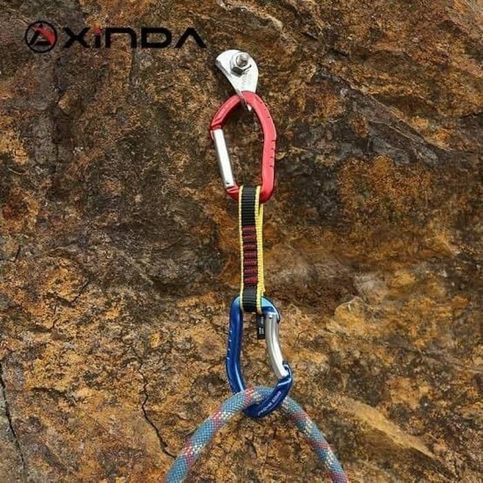 Jual Carabiner Xindan Xd Cp03 04 32cm Outdoor Rock Climbing Jakarta Utara Petualang Hutan Tokopedia