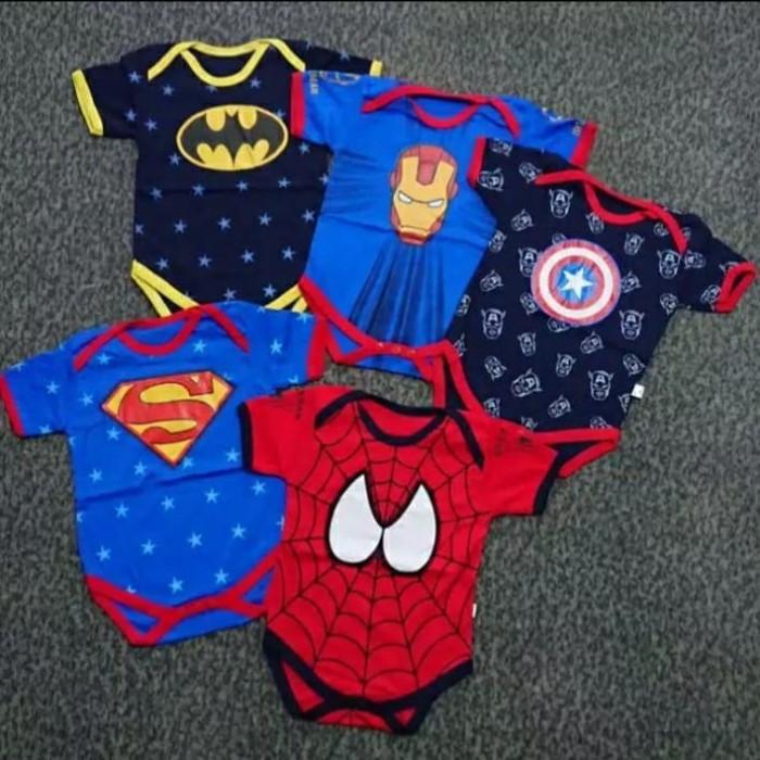 Foto Produk jumper bayi superhero dari cantikqshop