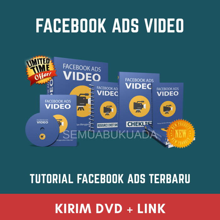 Foto Produk Tutorial - Facebook Ads Video - Ecourse FB Ads dari semuabukuada