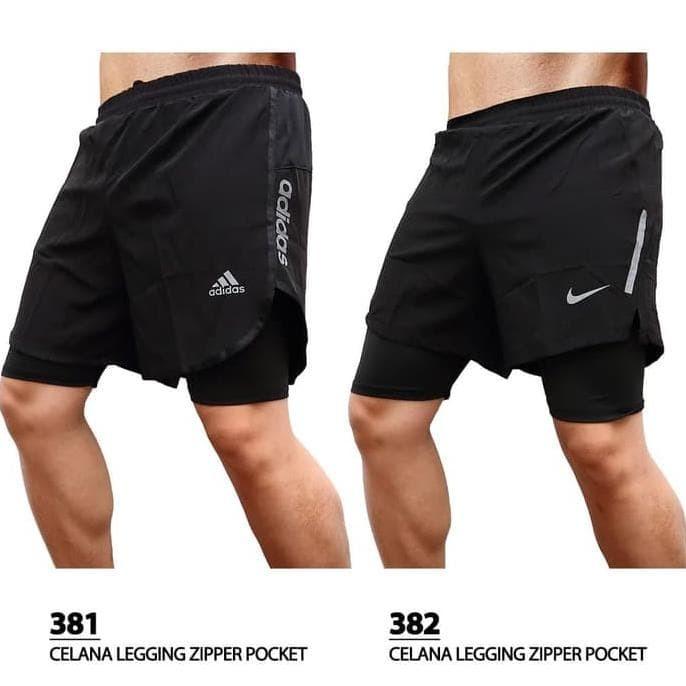 Jual Running Short Pants Legging Celana Lari Pria Celana Ketat Bagian Dalam Jakarta Barat Santamariana26 Yahoocom Tokopedia