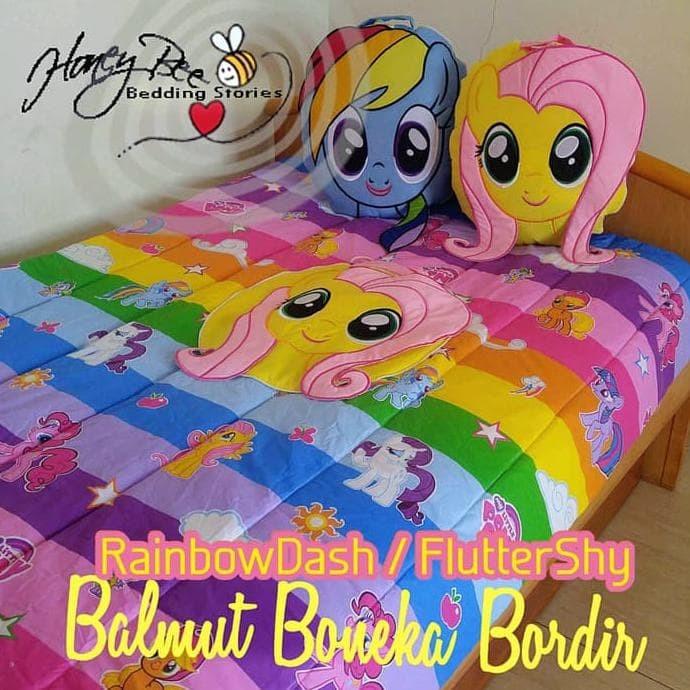 Jual Best Seller Bantal Selimut Lucu Kuda Poni Little Pony Rarity Jakarta Barat Ellamart007 Tokopedia
