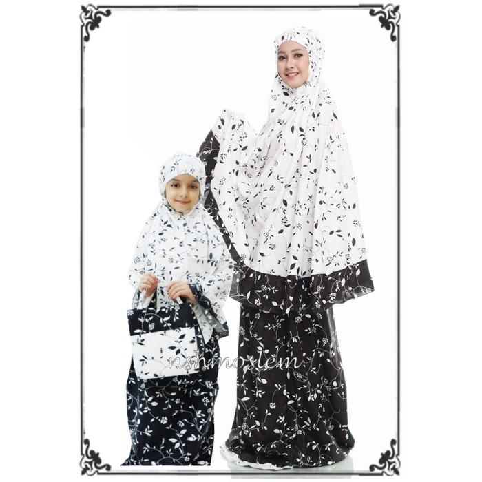 Foto Produk MUKENA COUPLE IBU DAN ANAK SHABBY MARINA by NSH dari Betuah Barokah