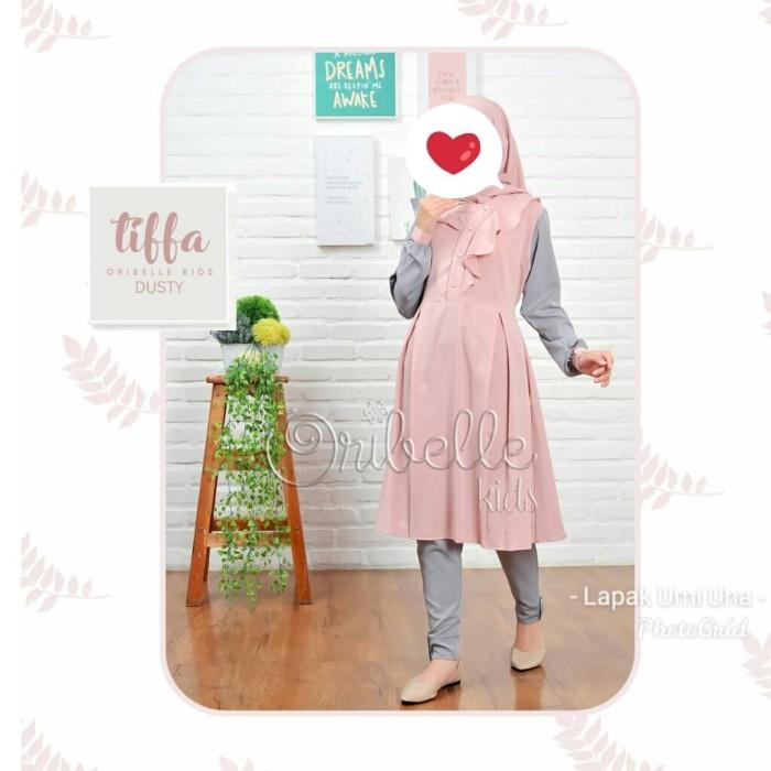 Foto Produk Oribelle Kids Set Tunik dan Celana TIFFA Size 6 dan Size 8 dari LAPAK UMMI UNA