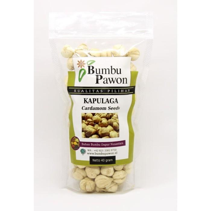 Foto Produk BP014A Biji Kapulaga, Cardamom Seeds 40gr dari Bumbu Pawon.Id