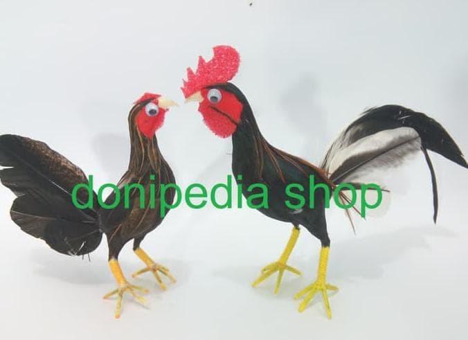 Jual Best Quality Sepasang Ayam Jantan Betina Miniatur Boneka Ayam Kab Tangerang Hanip1shop1 Tokopedia