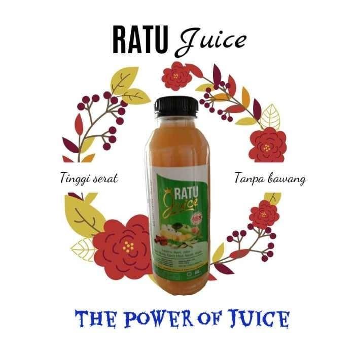 Foto Produk Ratu juice 500ml (herbal) + Ratujuice + Juice Minuman untuk diet dari ratujuice