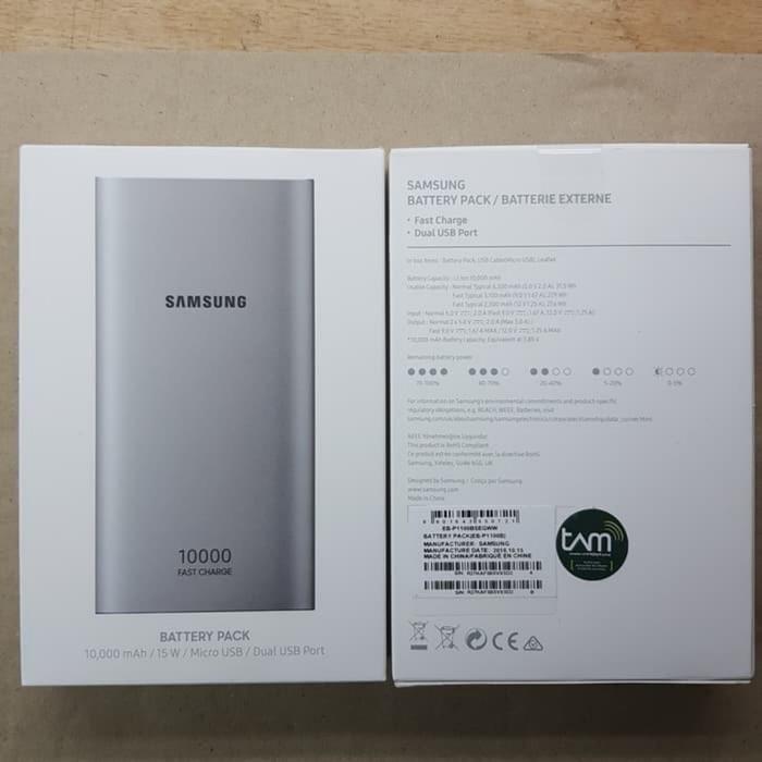 Foto Produk power bank Samsung 10.000mAh Dual Output USB Original Garansi TAM dari Market Plan