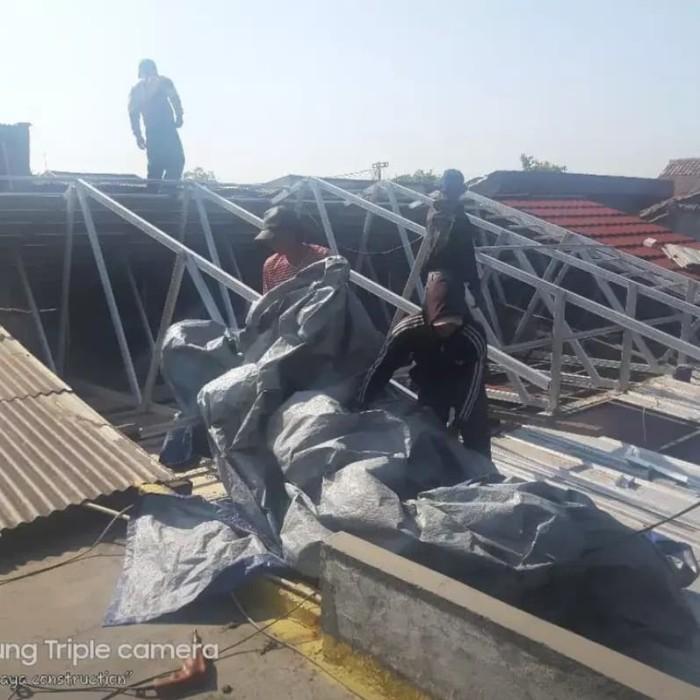 Jual Bongkar Pasang Atap Rumah Rangka Baja Ringan 0 75 Mm Kab Bogor Jasa Pasang Atap Rumah Tokopedia
