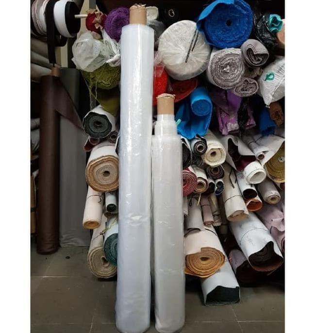 Foto Produk Plastik PE bening lebar 1,5 meter untuk cor, tutup kasur, bungkus sofa dari Navya-Store5758