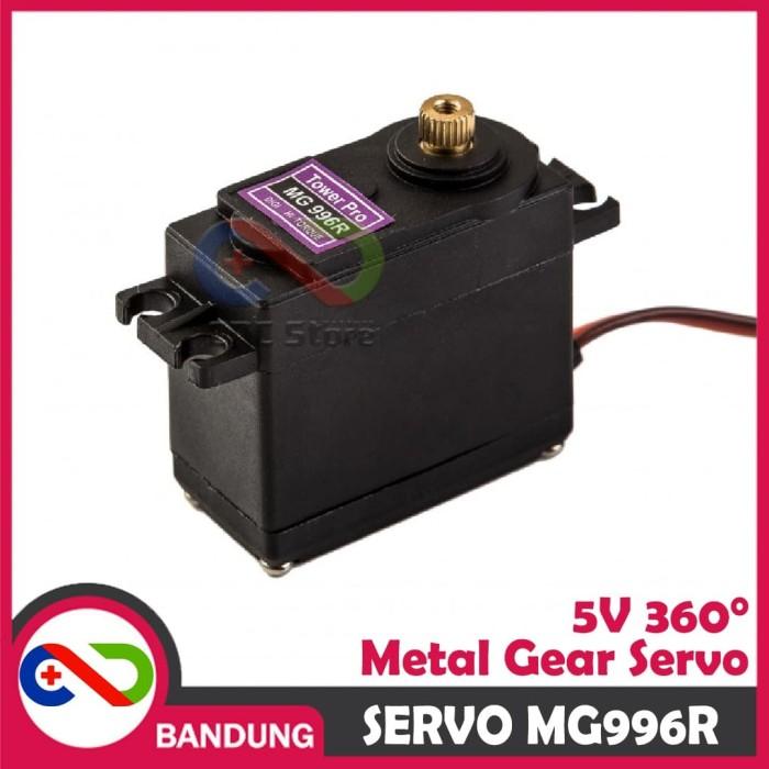Foto Produk MOTOR SERVO MG996R MG996 METAL GEAR 360 DEGREE CONTINUOUS dari CNC STORE BANDUNG