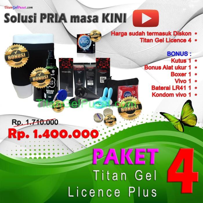 Foto Produk PAKET 4 Titan Gel Licence Plus Plus 4 dari FurnitureARS