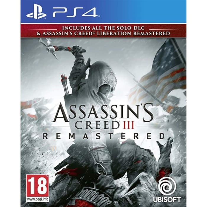 Jual Ps4 Assassins Creed Iii Remastered Ps 4 Assassin Creed 3