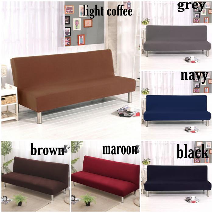 Jual Sarung Sofa Bed Polos Murah Cover