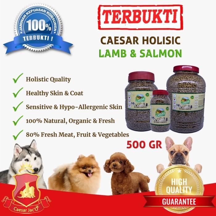Foto Produk PROMO!!! Makanan Anjing / Dog Food Caesar Natural Holistic 500gr dari Caesar Jac'O
