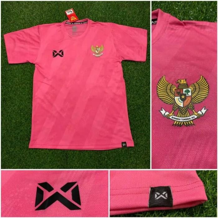 Jual Jersey baju bola timnas Indonesia training pink 2020
