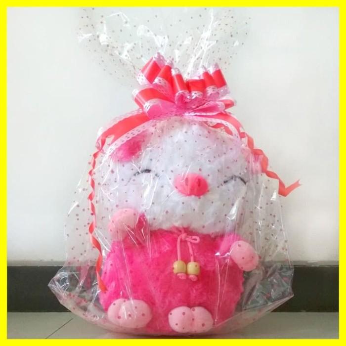 Foto Produk Kado Hadiah Pesta Ulang Tahun Mainan Edukasi Bayi Anak Boneka Pug Pink dari Iyesh Online Store