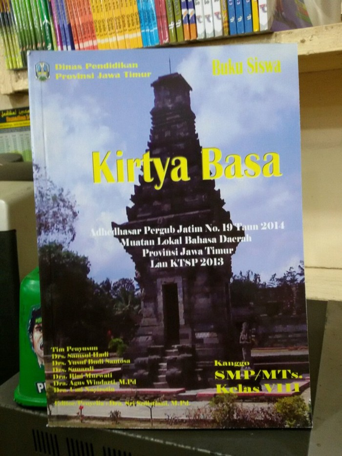 Jual Buku Paket Bahasa Jawa Kirtya Basa Kelas 8 K13 Kota Surabaya Jimmyshoops Tokopedia