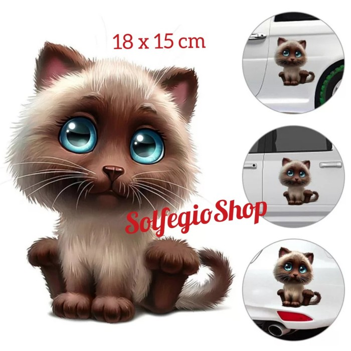 Jual Stiker Kartun 3d Kucing Lucu Imut Sticker Cat 3d Kota Yogyakarta Gallery Fajar Sutrisno Tokopedia