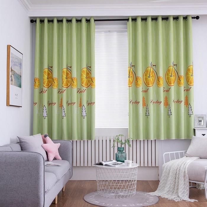 Jual Tirai Jendela Desain Kartun Grommet Bahan Polyester Untuk Kamar Anak Jakarta Pusat Import9 Tokopedia