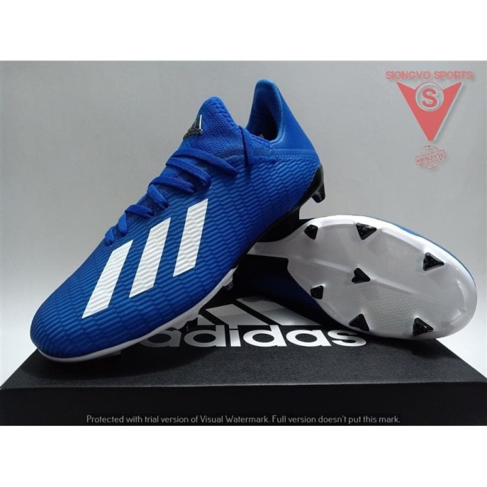 Promo Sepatu Bola Adidas X 19 3 Fg Ftwwht Shpnk 42 Kota Depok