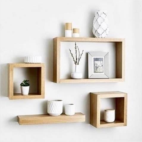 Jual Rak Dinding Satu Set Hiasan Rumah Minimalis Furniture - Jakarta Selatan - Pesona Outdoor | Tokopedia