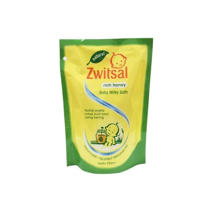 Foto Produk ZWITSAL BB BATH N RICH HONEY PCH 250ML dari LotteMart Indonesia