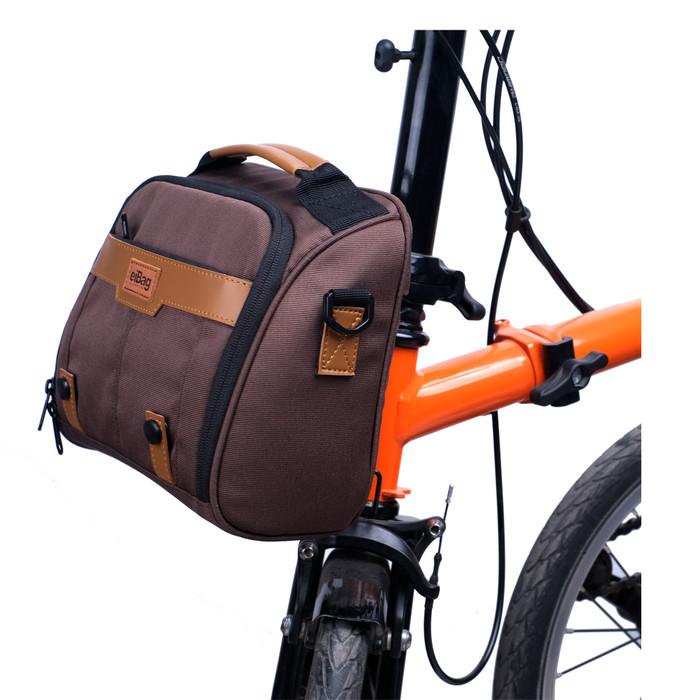 Foto Produk Tas sepeda brompton eibag folding one - Cokelat dari eibag-indonesia