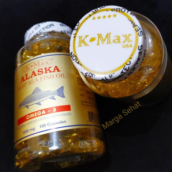 Foto Produk OMEGA 369, MINYAK IKAN ALASKA K-MAX, USA isi 100 kapsul dari Marga Sehat