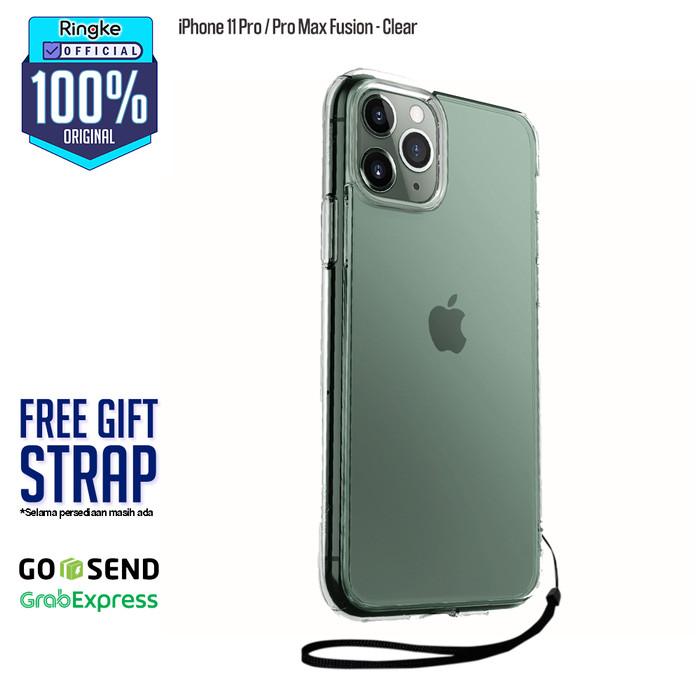Foto Produk Ringke iPhone 11 / 11 Pro / 11 Pro Max Fusion Anti Crack Anti Drop Ori - Pro-Clear dari Official Ringke Partner