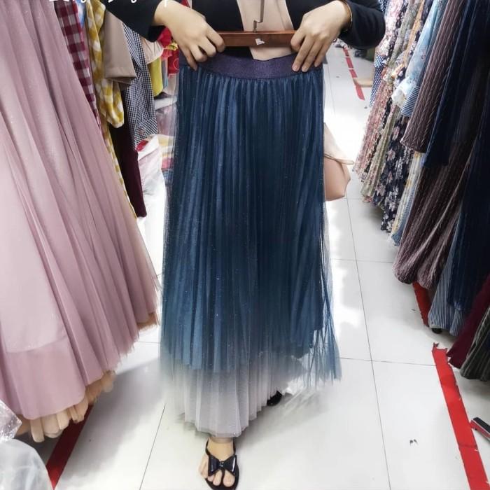 Jual rok tulle panjang glitter gradasi warna import bangkok - Jakarta Pusat  - import_addict | Tokopedia