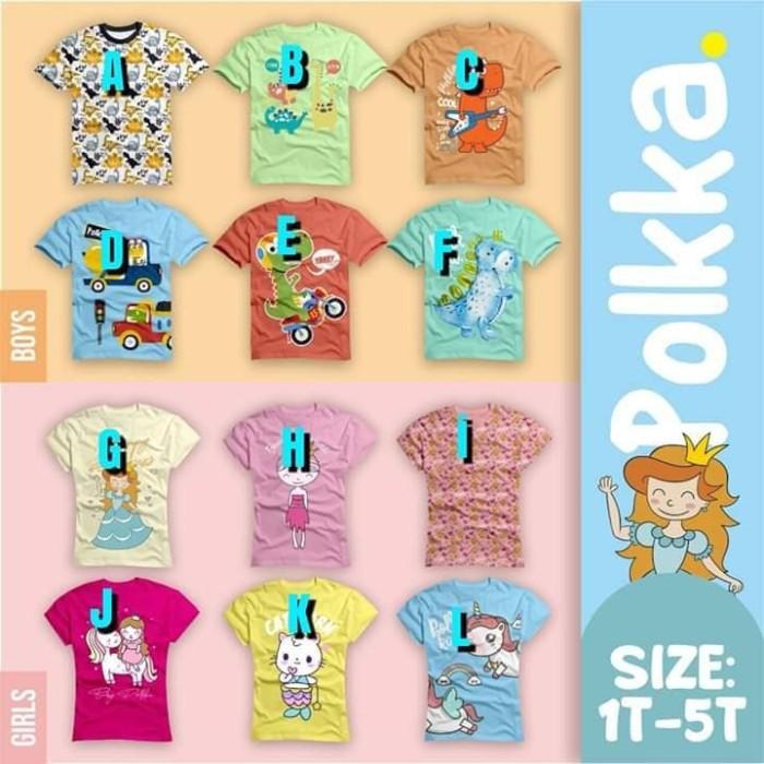 Foto Produk kaos anak branded / baju anak branded polkka dari youna_kids