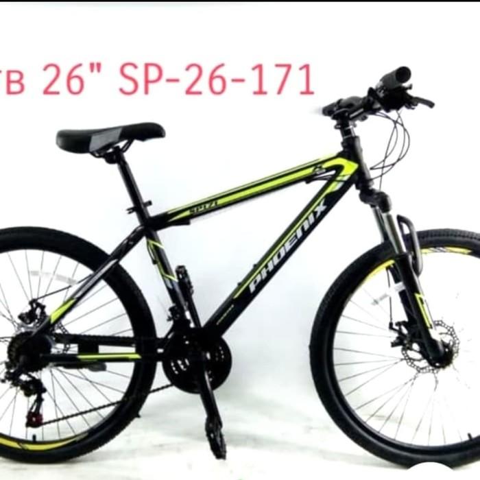 Jual sepeda gunung MTB 26 inch phoenix SP 171 shimano
