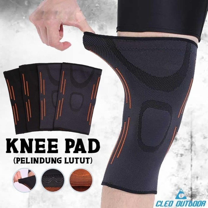 Foto Produk Knee Pad Kneepad Pelindung Kaki Sepasang dari Cleo Outdoor Adventure