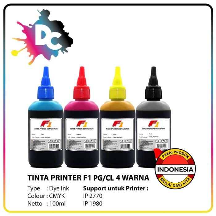 Foto Produk Tinta Printer F1 for Canon Black 100ml - Kuning dari Dunia Cetak
