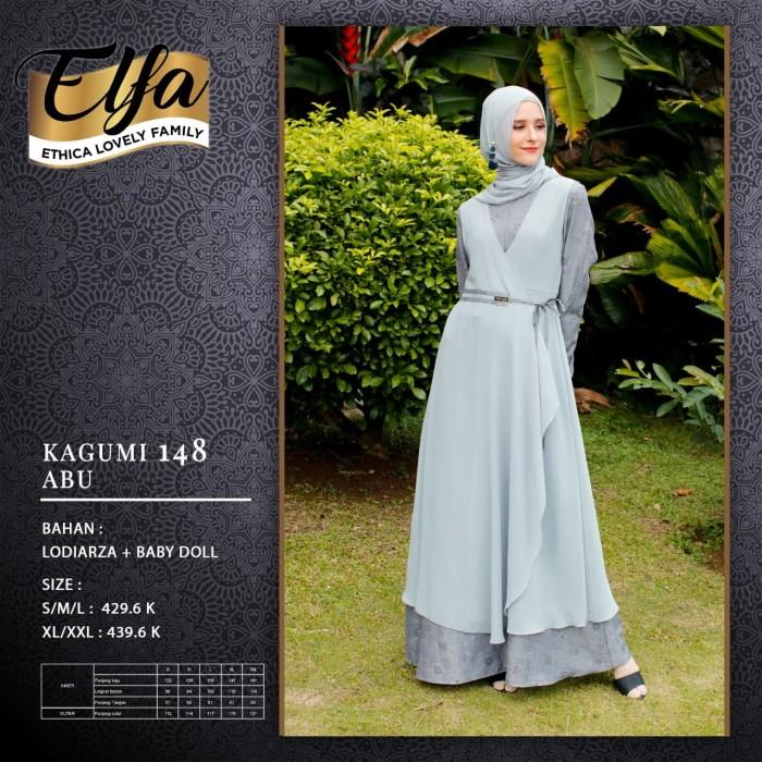 Jual Gamis Dewasa Ethica Elfa Kagumi 148 Kota Depok Galeri Fashion Muslim Tokopedia